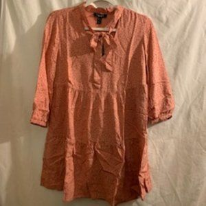 New Look Petite Women's Pink/Salmon Dress 0P NWT